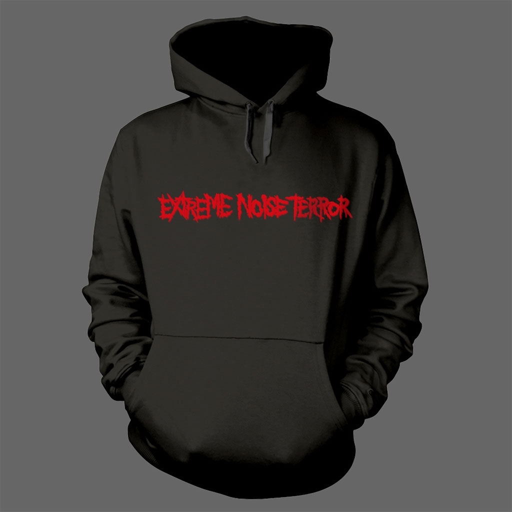 Extreme Noise Terror - Red Logo (Hoodie)