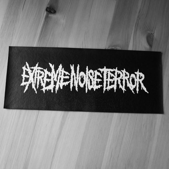 Extreme Noise Terror - Logo (Leather) (Superstrip) (Backpatch)