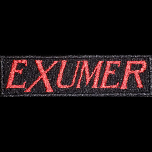 Exumer - Red Logo (Embroidered Patch)