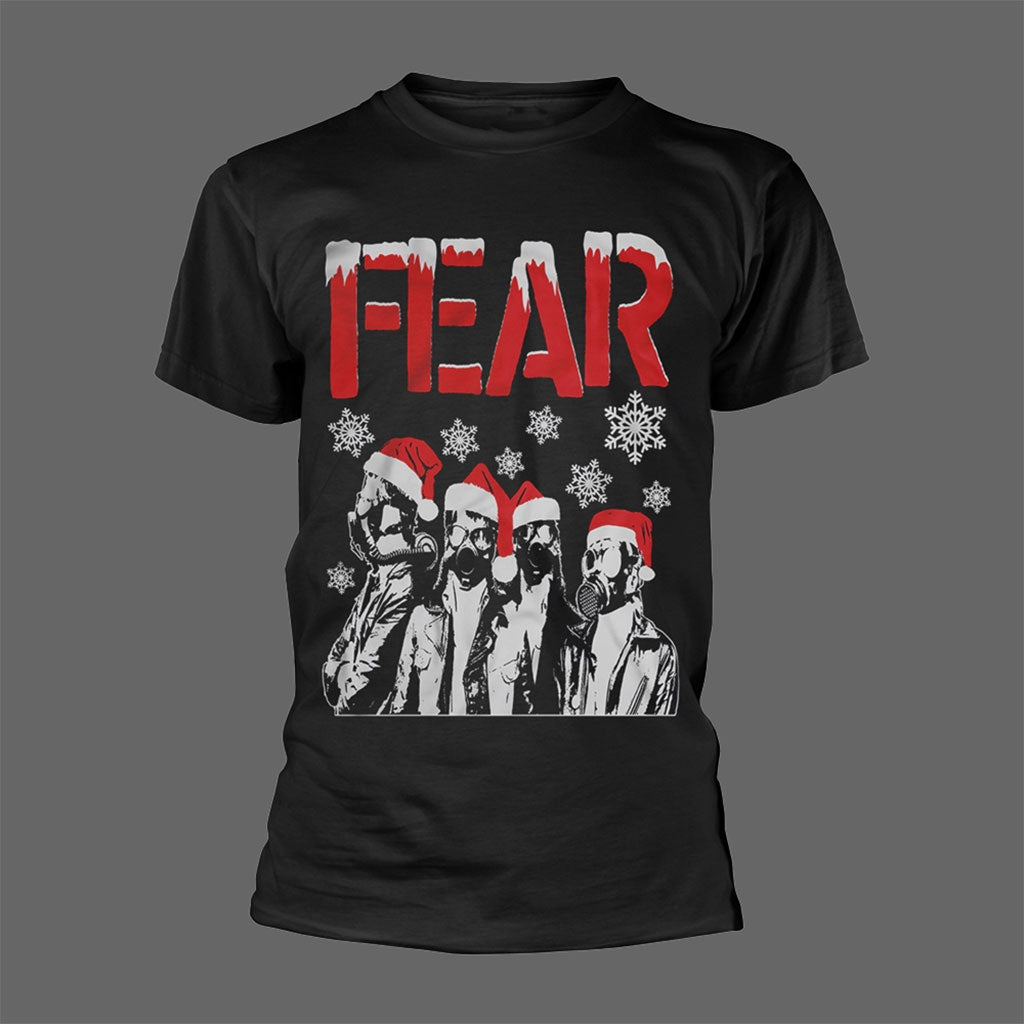 Fear - Christmas Gas Masks (T-Shirt)