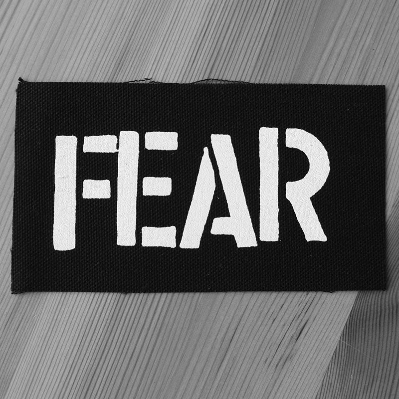 Fear - Logo (Printed Patch)