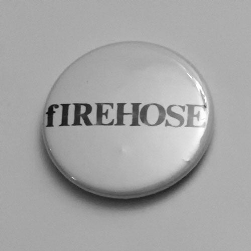 Firehose - Black Logo (Badge)