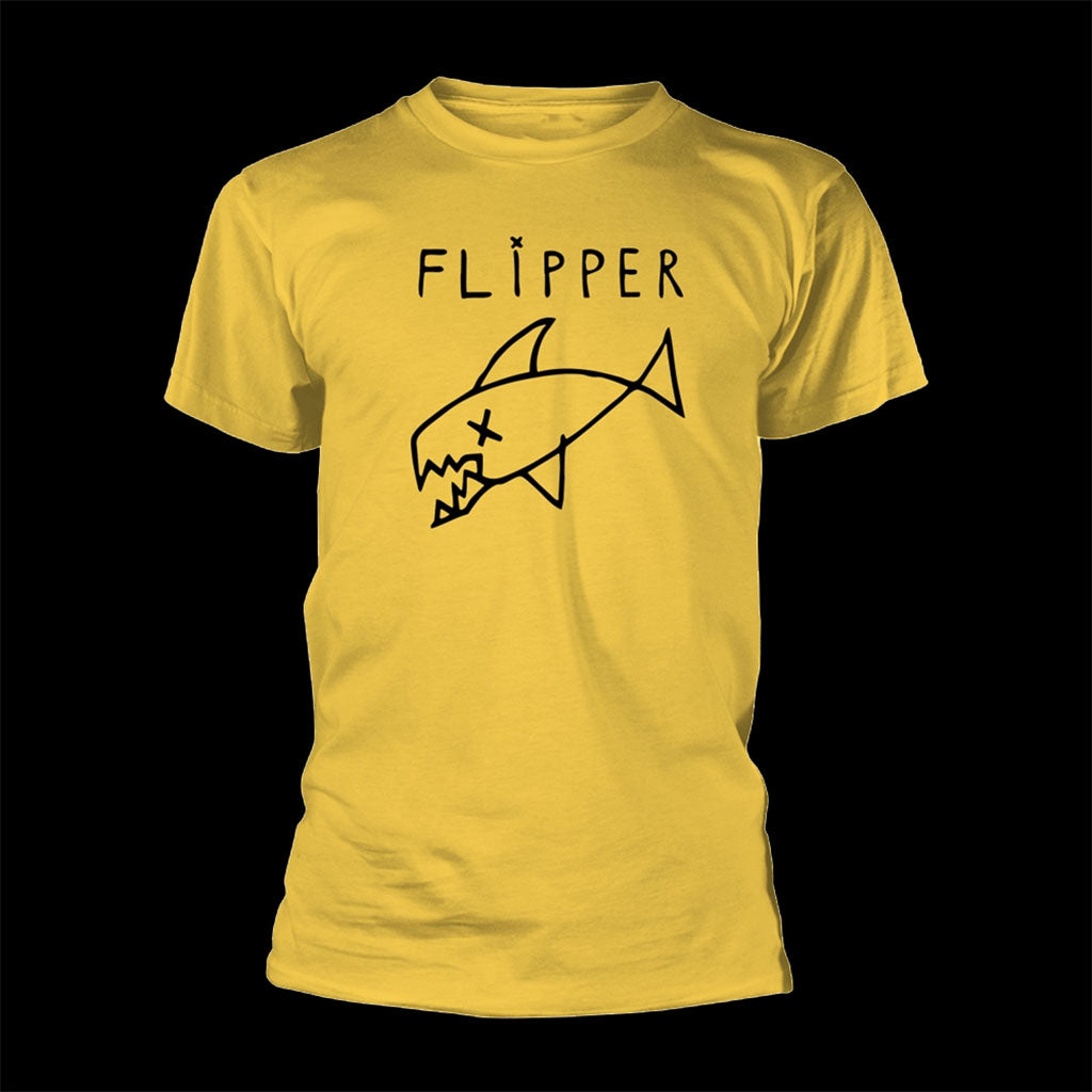 Flipper - Logo (Yellow) (T-Shirt)