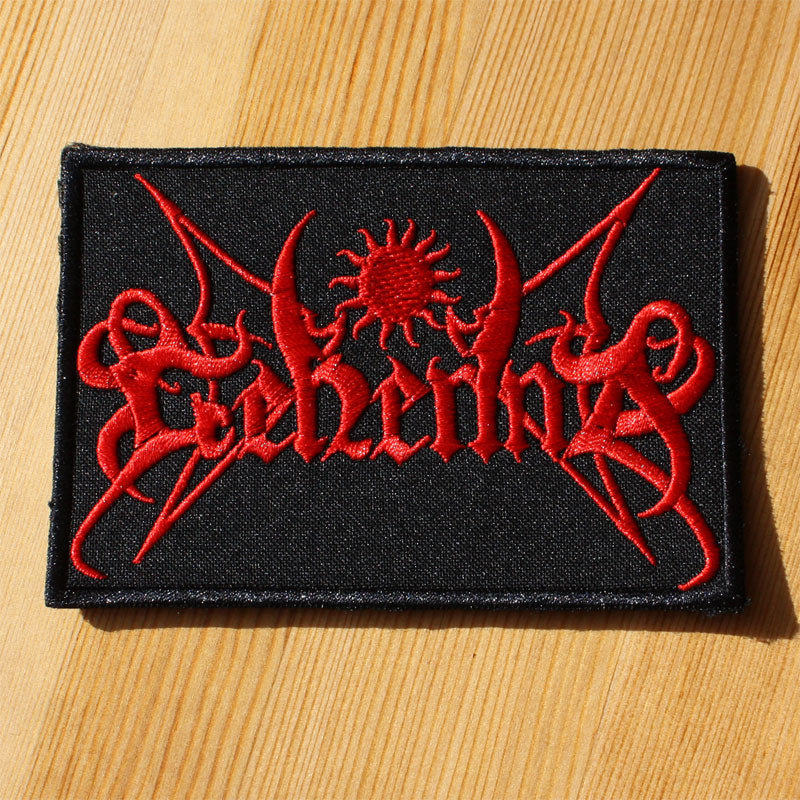 Gehenna - Red Logo (Embroidered Patch)