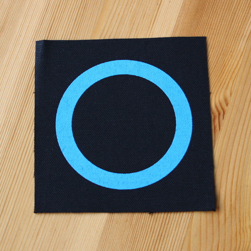 Germs - Blue Circle Logo (Printed Patch)