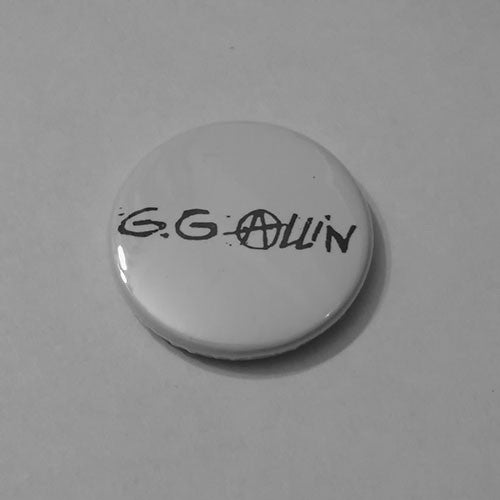 GG Allin - Black Anarchy Logo (Badge)
