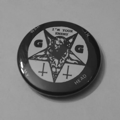 GG Allin - War in My Head (Badge)