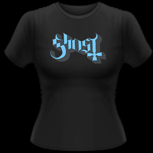 Ghost - Blue Logo (Women's T-Shirt)