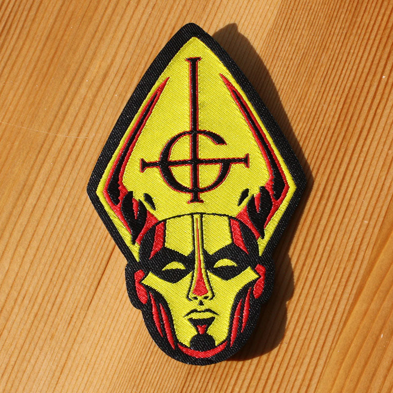 Ghost - Papa Head (Woven Patch)