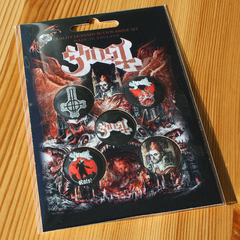 Ghost - Prequelle (Badge Pack)