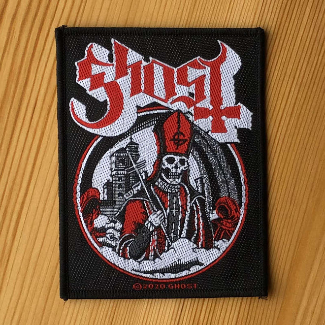 Ghost - Secular Haze (Woven Patch)