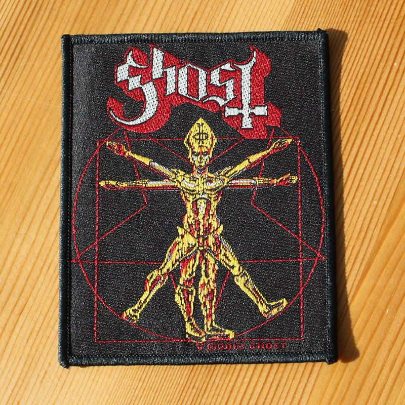 Ghost - The Vitruvian Ghost (Woven Patch)