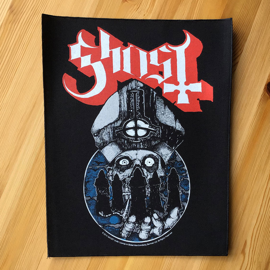 Ghost - Warriors (Backpatch)