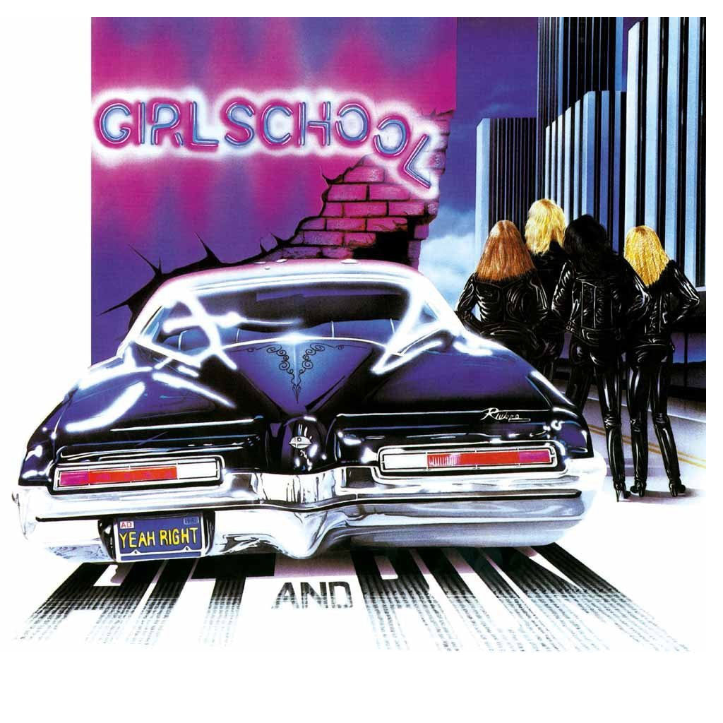 Girlschool - Hit and Run (2017 Reissue) (LP)