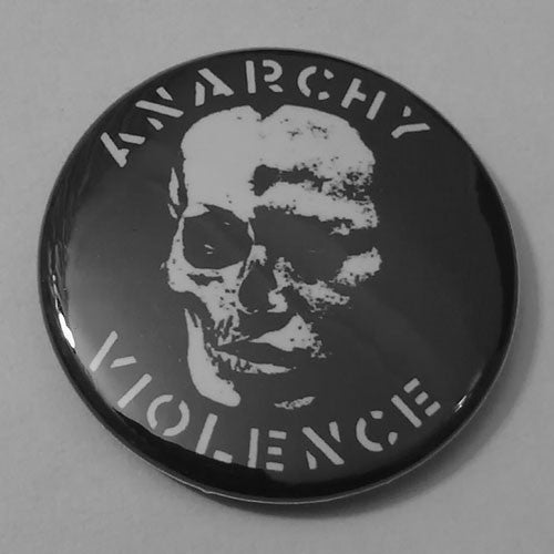GISM - Anarchy Violence (Badge)