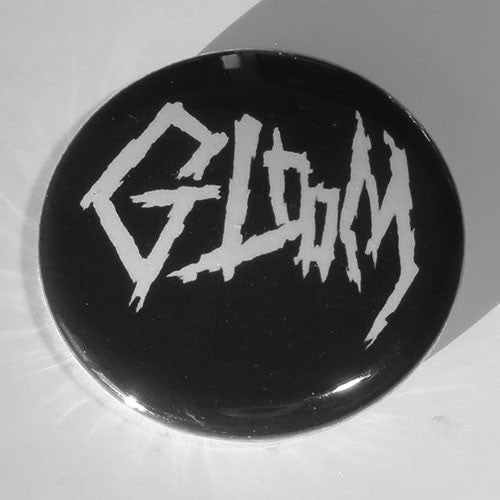 Gloom (JP) - White Logo (Badge)