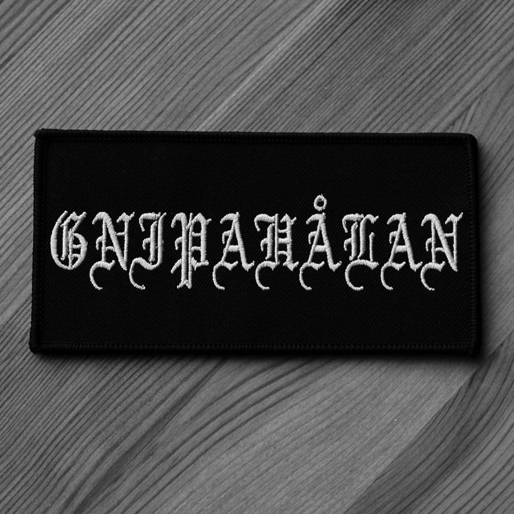 Gnipahalan - Logo (Embroidered Patch)