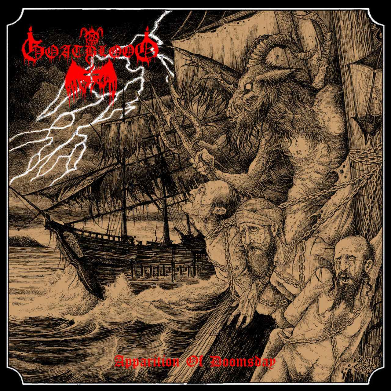 Goatblood - Apparition of Doomsday (CD)