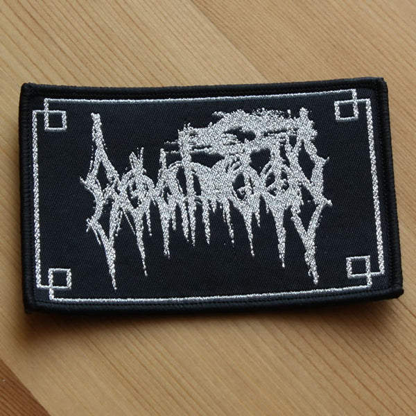 Goatmoon - Silver Logo (Woven Patch)