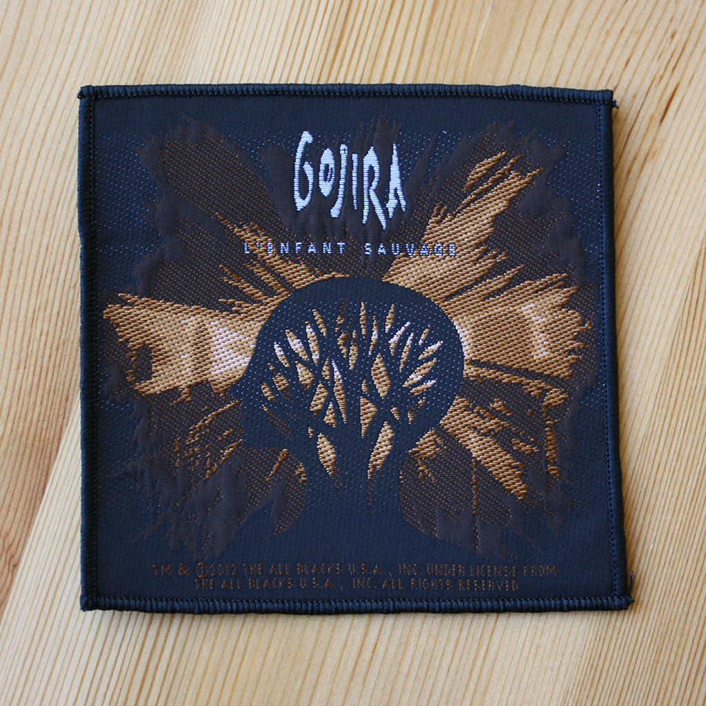 Gojira - L'Enfant Sauvage (Woven Patch)