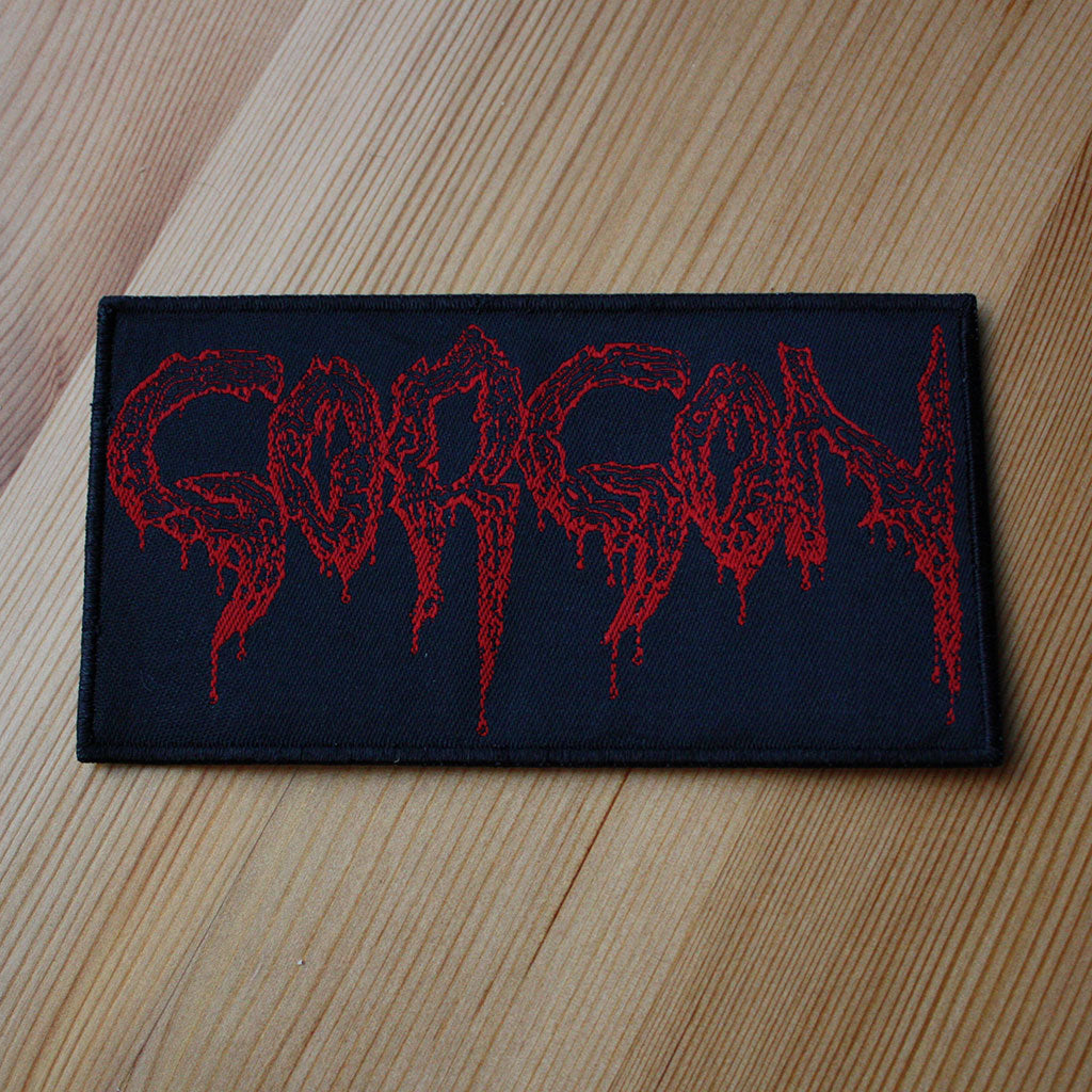 Gorgon - Red Logo (Woven Patch)