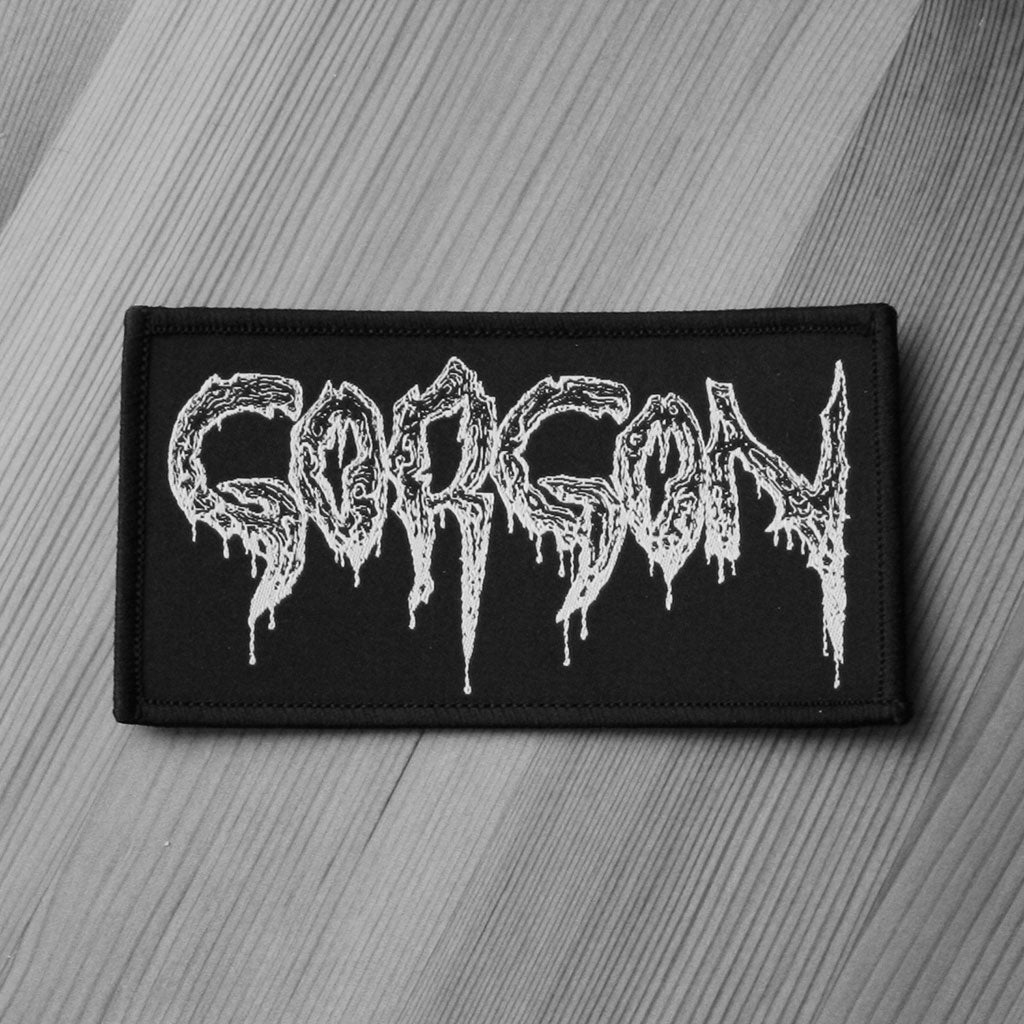Gorgon - White Logo (Woven Patch)