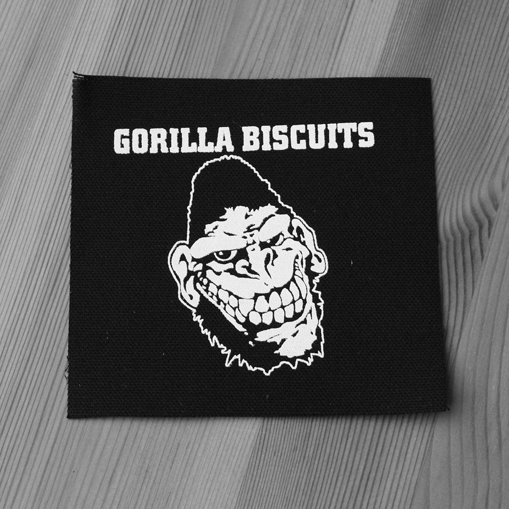 Gorilla Biscuits - Logo (Printed Patch)