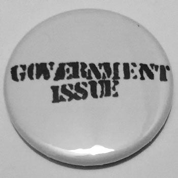 Government Issue - Black Logo (Badge)