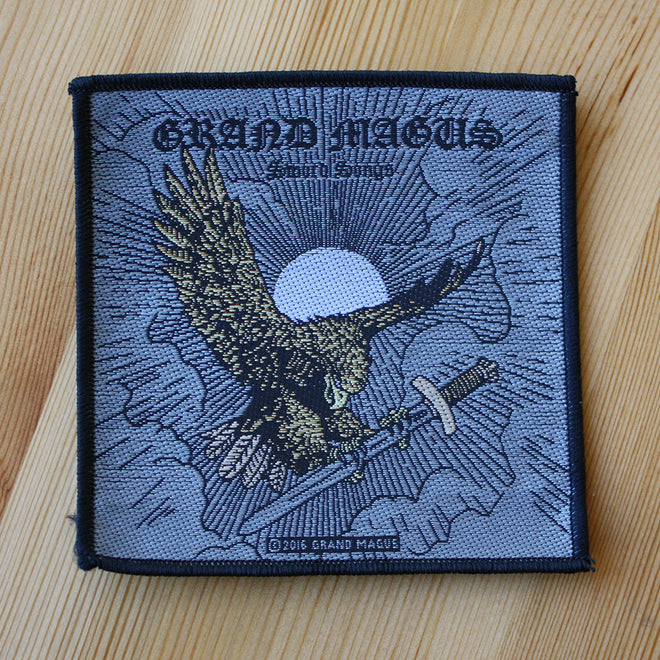 Grand Magus - Sword Songs (Woven Patch)