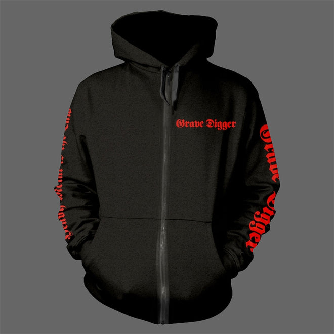 Grave Digger - Heavy Metal Breakdown (Full Zip Hoodie)