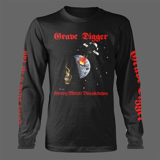 Grave Digger - Heavy Metal Breakdown (Long Sleeve T-Shirt)