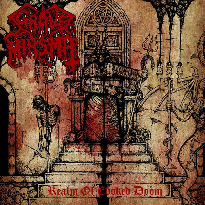 Grave Miasma - Realm of Evoked Doom (CD)