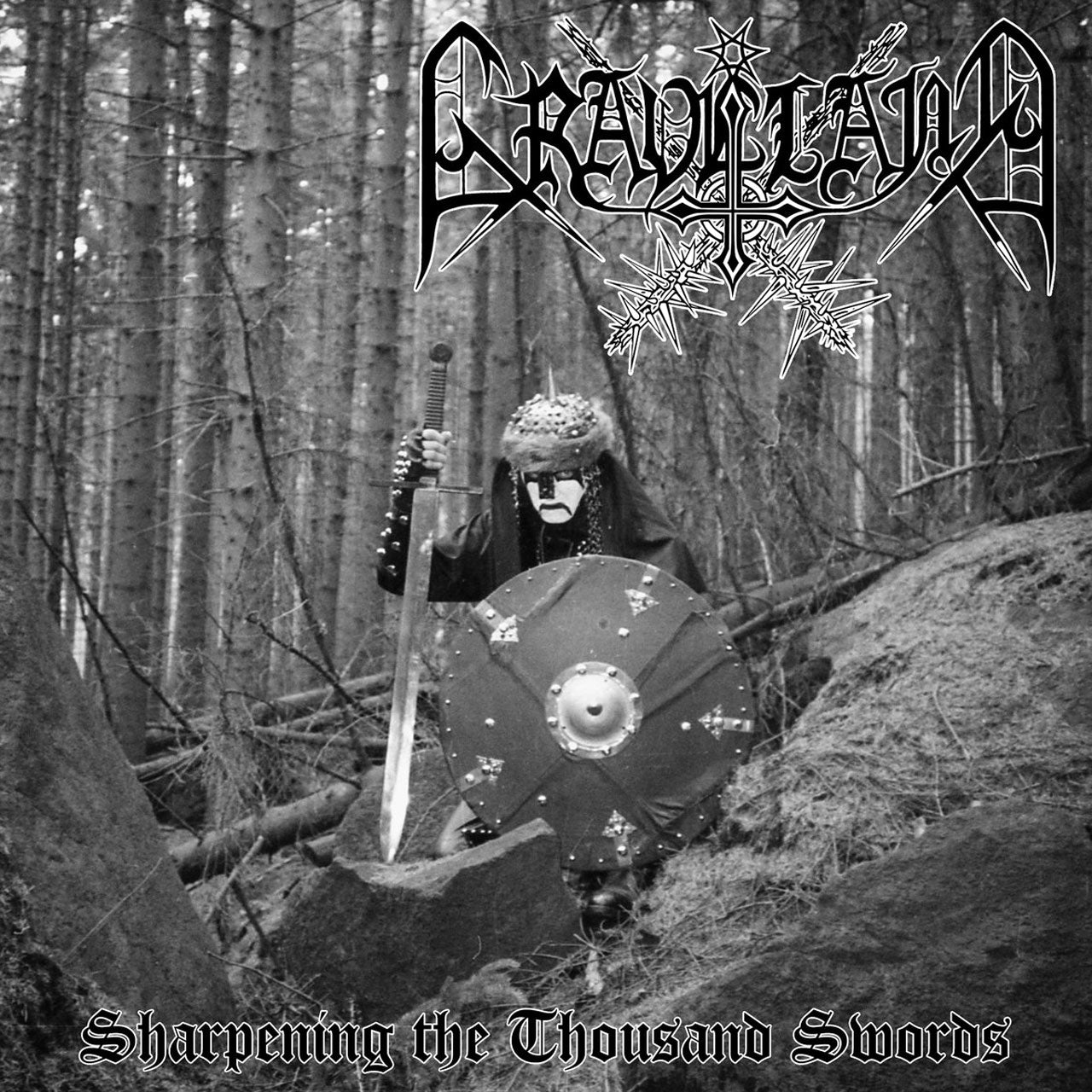 Graveland - Sharpening the Thousand Swords (White Splatter Edition) (LP)