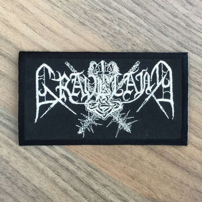 Graveland - Silver Logo (Embroidered Patch)