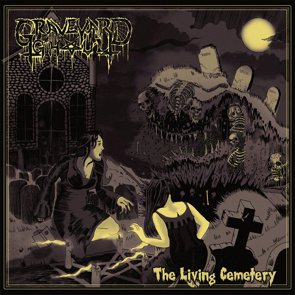 Graveyard Ghoul - The Living Cemetery (CD)