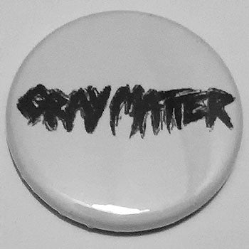 Gray Matter - Black Logo (Badge)