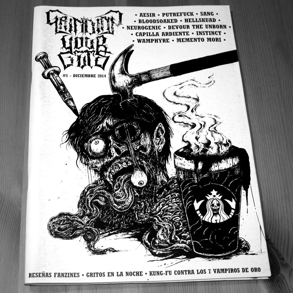 Grinding Your Guts - Issue 1 (Zine)
