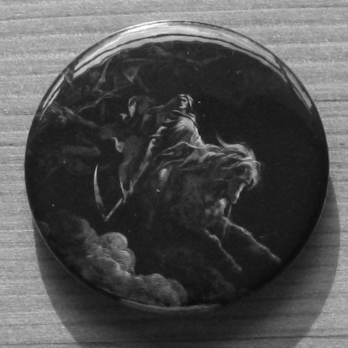 Gustave Dore - Death on the Pale Horse (Badge)
