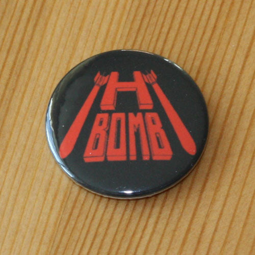 H-Bomb - Red Logo (Badge)