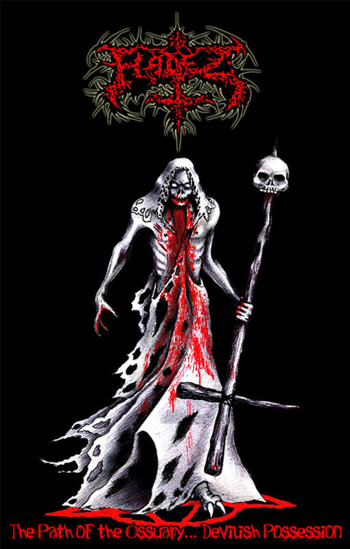 Hadez - The Path of the Ossuary Devilish Possession (Cassette)