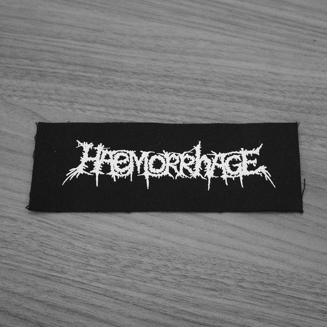 Haemorrhage - Logo (Printed Patch)