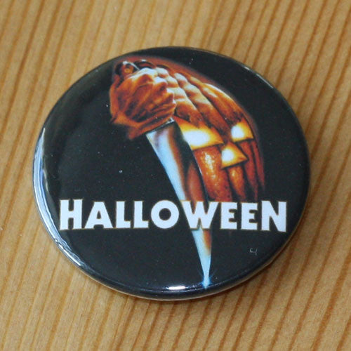Halloween 1978 Pumpkin Poster and Title (Badge)