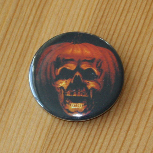 Halloween II 1981 Pumpkin Skull Poster (Badge)