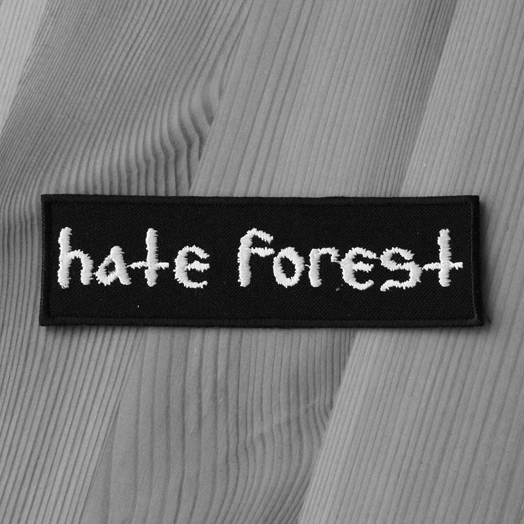 Hate Forest - Logo (Embroidered Patch)