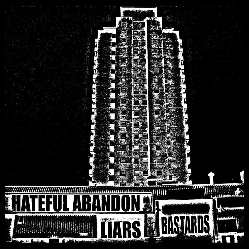 Hateful Abandon - LIARS/BASTARDS (CD)