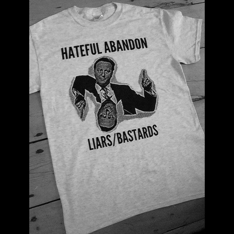 Hateful Abandon - LIARS/BASTARDS (T-Shirt)