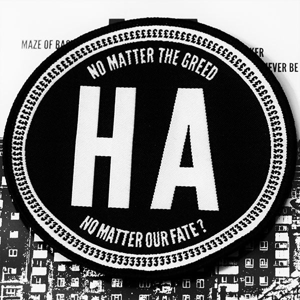 Hateful Abandon - No Matter the Greed, No Matter Our Fate (Woven Patch)