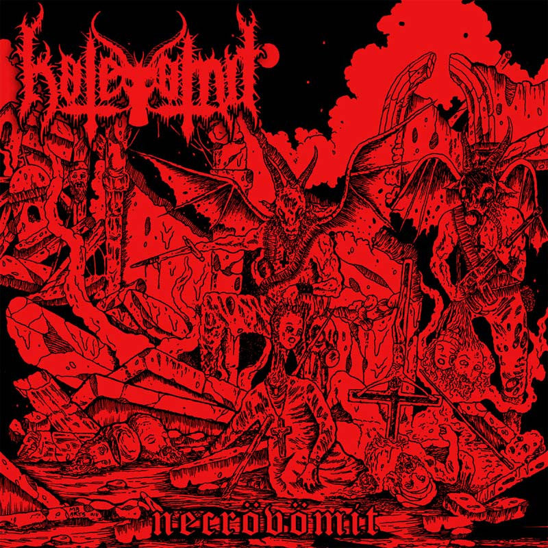 Hatevomit - Necrovomit (CD)