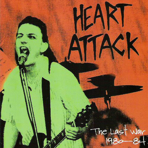 Heart Attack - The Last War 1980-84 (CD)
