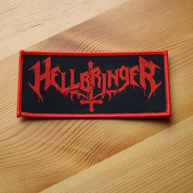 Hellbringer - Red Logo (Woven Patch)